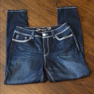 Seven7 slimming skinny jeans 14
